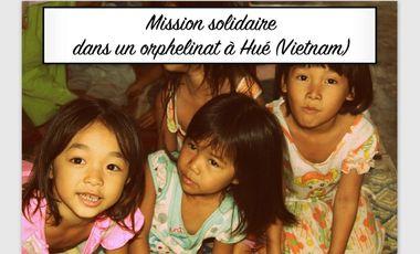 Visuel du projet Mission solidaire dans un orphelinat à Hué (Vietnam)