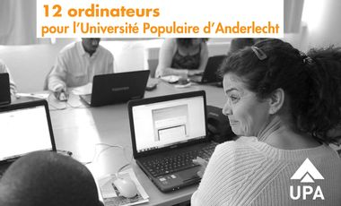 Visuel du projet Des ordinateurs pour une université populaire