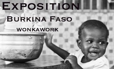 Project visual Exposition Burkina Faso x WonkaWork