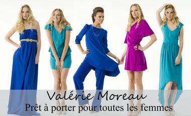 Project visual Valérie Moreau - prêt à porter pour TOUTES les femmes