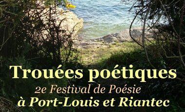 Visueel van project Festival Trouées poétiques 2016