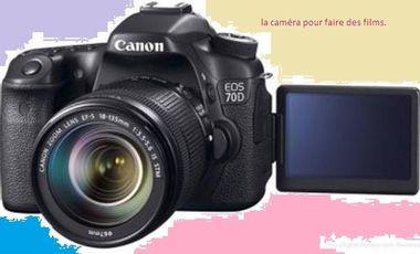 Visueel van project caméra pour films et documentaires.
