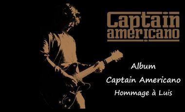 Project visual Album Captain Americano - Hommage à Luis