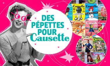 Project visual Des pépettes pour Causette !