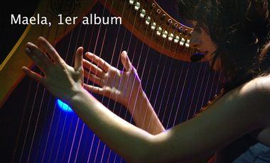 Visueel van project 1er Album et Clip de Maela
