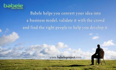 Visueel van project BABELE - create together