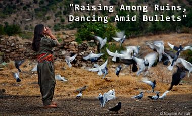 Visueel van project Raising Among Ruins, Dancing Amid Bullets