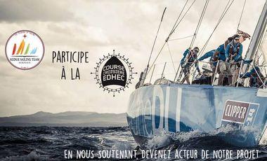 Project visual La Kedge Sailing Team à la CCE 2016
