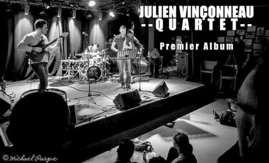 Project visual Julien Vinçonneau Quartet - Premier Album
