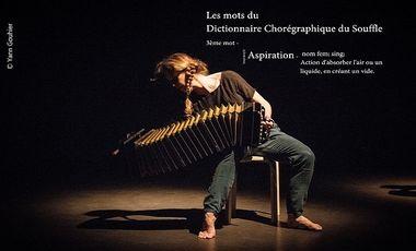 """Visueel van project """"Aspiration"""", 3ème volet du projet """"Dictionnaire Chorégraphique du Souffle"""""""
