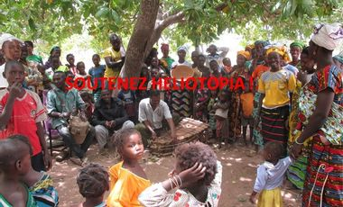 Project visual Héliotopia construit une école au Burkina-Faso