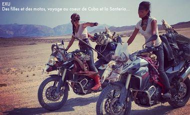 Project visual EXU : Des filles et des motos ! Roadtrip à travers Cuba et la Santeria