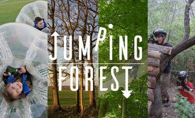 Visueel van project Jumping Forest, le parc de loisirs en plein air du Sud Seine-et-Marne