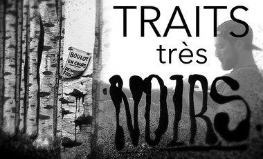 """Project visual """"Traits très noirs"""" 1er livre de SLY2"""
