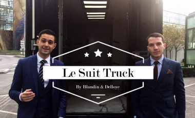 Project visual Le premier « Suit Truck » Français