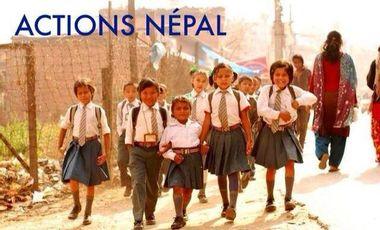 Visueel van project Actions Népal