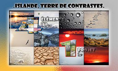 Visueel van project ISLANDE, TERRE DE CONTRASTES