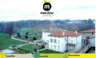 Visueel van project Melchior Coworking