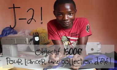 Visueel van project Marché Boucotte, projet textile 100% solidaire