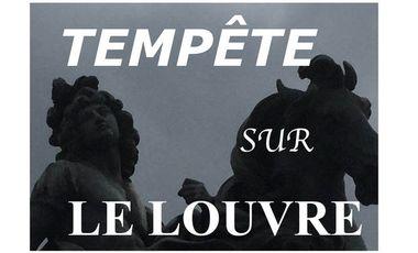 Project visual Tempête sur le Louvre