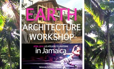 Project visual EARTH ARCHITECTURE WORKSHOP in JAMAICA