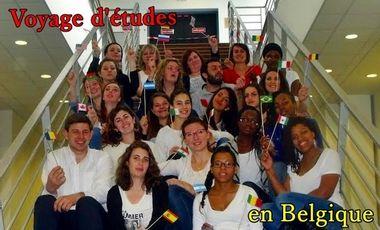 Visueel van project Voyage d'études étudiant pour la semaine sociale en Belgique