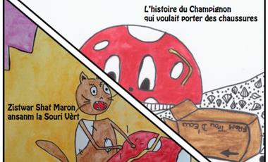 Visueel van project ZEKLI ZETWAL - édition de 2 oeuvres pour enrichir la littérature de jeunesse réunionnaise