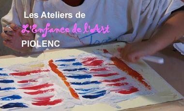Visuel du projet Les Ateliers de L'Enfance de l'Art