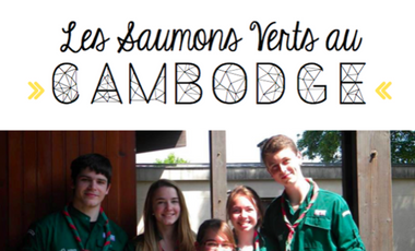 Project visual LES SAUMONS VERTS AU CAMBODGE
