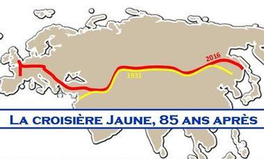 Visuel du projet La Croisière jaune, 85 ans après !