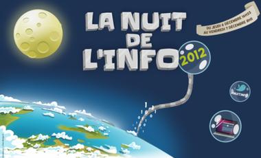 Visueel van project Nuit de l'info Aix en Provence