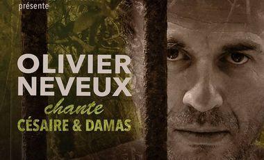 Project visual OLIVIER NEVEUX chante Césaire & Damas au Vingtième Théâtre