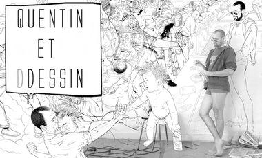 Visueel van project Quentin et Ddessin.