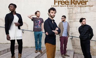 "Visueel van project 1er album ""live"" de Free River"