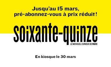 Visueel van project Soixante-Quinze