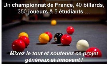 Visueel van project Championnat de France de Billard