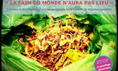 Visueel van project Le 22 Décembre, La faim du monde n'aura pas lieu!