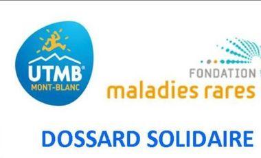Visueel van project Courir l'UTMB pour soutenir la Fondation des maladies rares