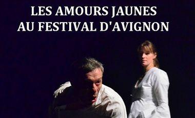 Project visual Les Amours Jaunes au festival d'Avignon