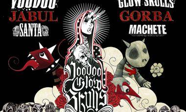 Visuel du projet Concert Jabul Gorba+ Voodoo Glow Skulls+ Santa Machete à Paris