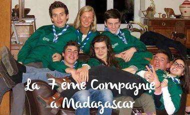 Visueel van project La 7ème Compagnie à Madagascar !