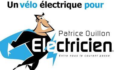 Project visual Participez au financement du vélo électrique de Patrice OUILLON Electricien!