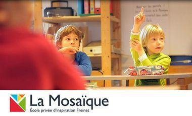 Visuel du projet La Mosaïque - Ecole privée d'inspiration Freinet