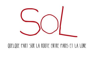 Visueel van project Sol, quelque part sur la route entre Paris et la lune