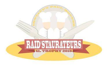 Visuel du projet Les Raid'staurateurs - 4L Trophy 2016