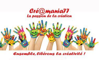 Project visual Créamania 77 : Ensemble, libérons la créativité !!