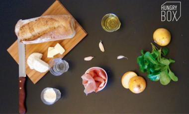 Visuel du projet Les Box repas saines, locales et gourmandes d'Hungry BOX !