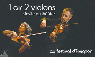 Visueel van project 1 air 2 violons en Avignon