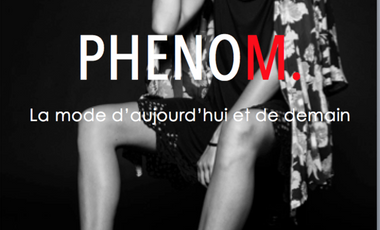 Visueel van project Magazine PhenoM.