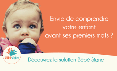 Visuel du projet Bébé Signe : échangez avec bébé !